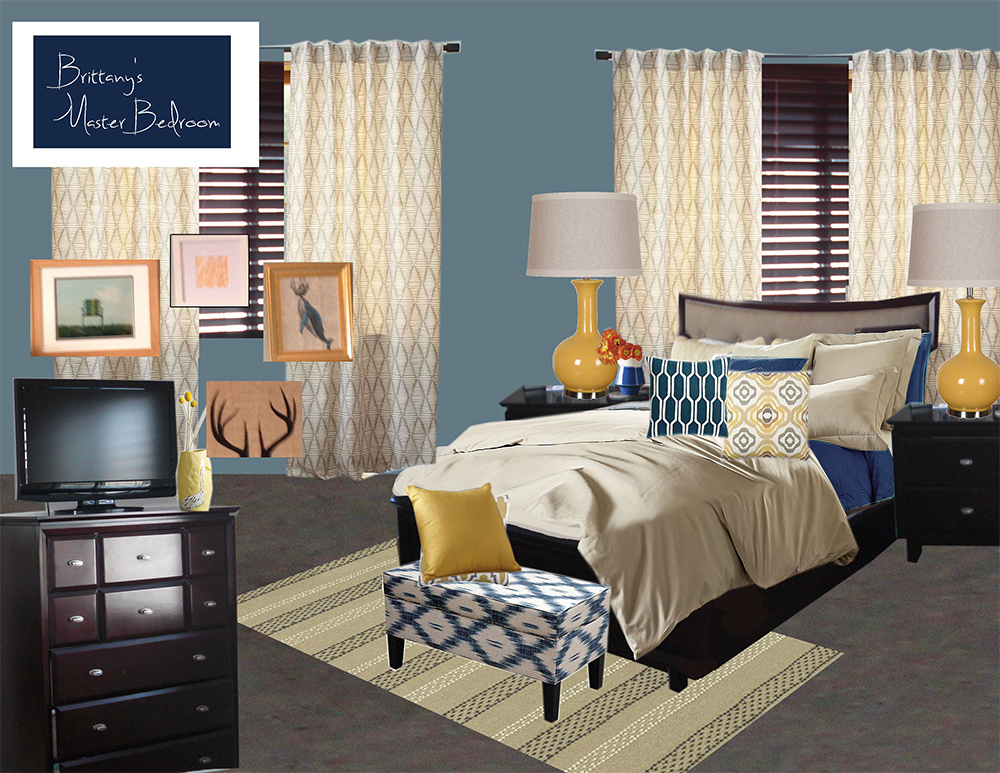 West elm virtual makeover design by numbers for Virtual bedroom makeover
