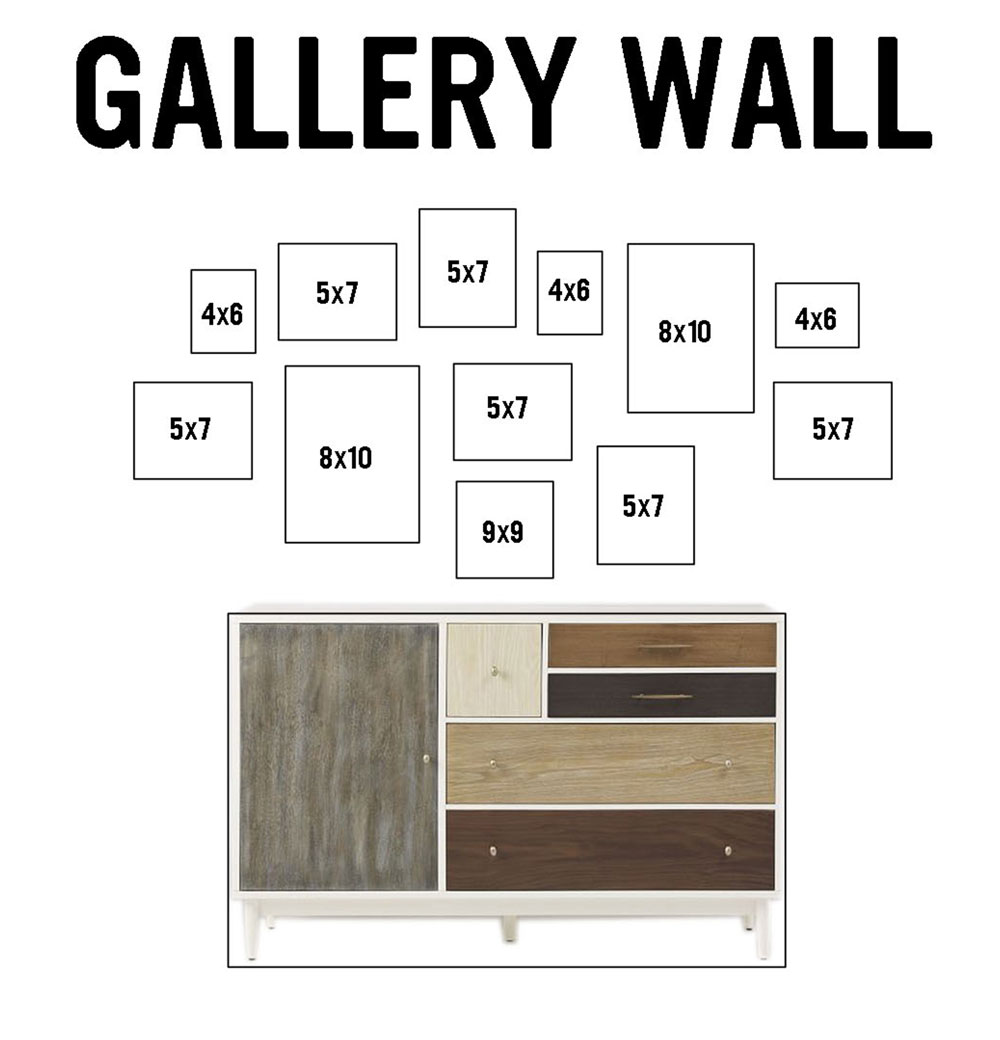 Virtual Gallery Wall Design