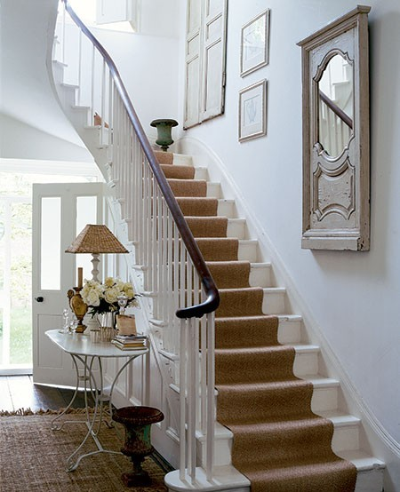 White Staircase