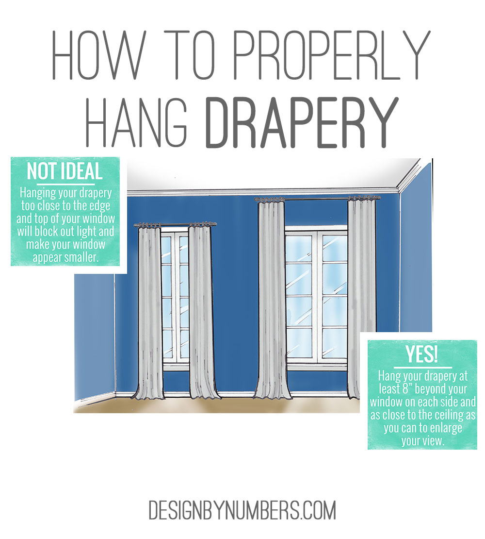 How To Properly Hand Drapery