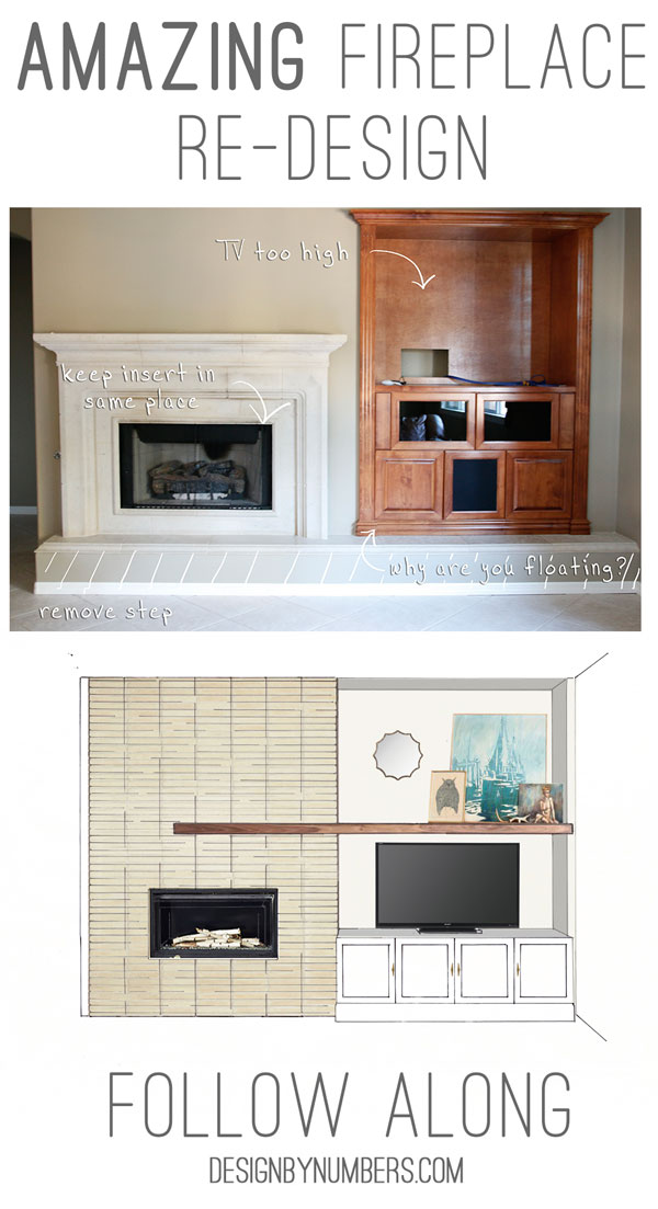 Secret Favorite Clients | Fireplace Re-Design